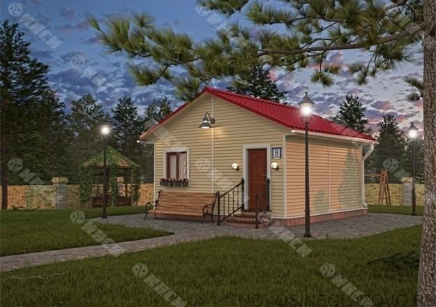 Дом ИНСИ 6х6